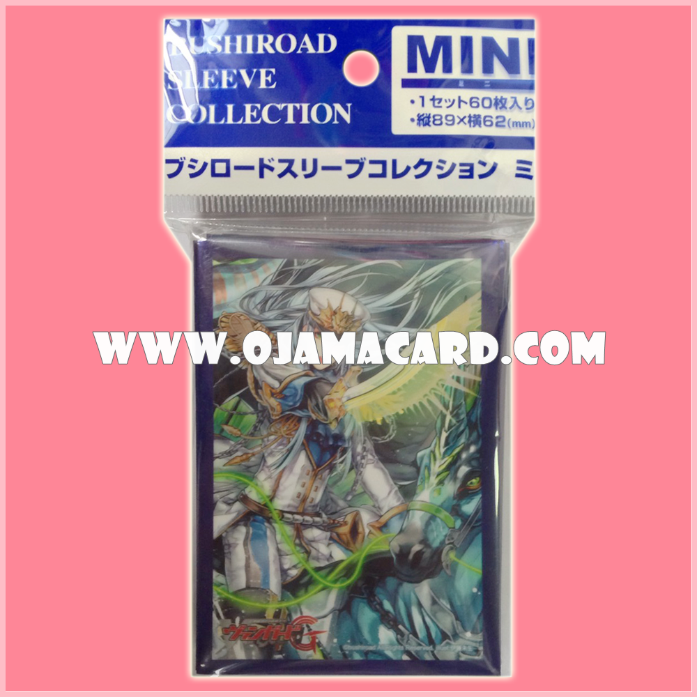 Bushiroad Collection Mini Deck Protector / Sleeve - Vol.140 : Transcendent of Storms, Savas x60