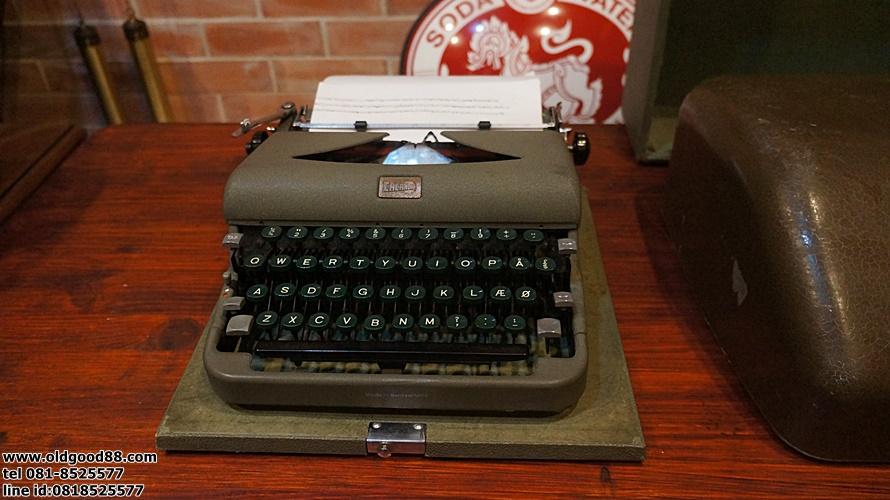 เครื่องพิมพ์ดีดcalada sweden รหัส27561sw