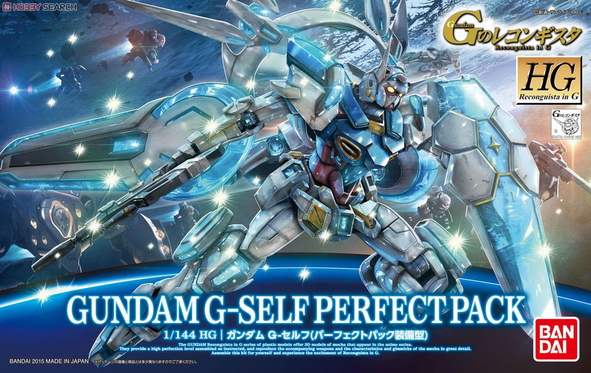 Gundam G-Self (Perfect Pack Equipped) (HG)