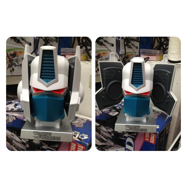 Optimus Prime Computer Speaker/ ลำโพงอเนกประสงค์ (สีขาว)