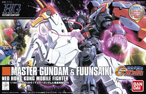 Master Gundam & Fuunsaiki (HGFC)