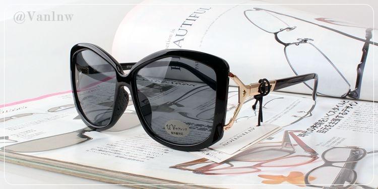 แว่นกันแดด PC Glasses Attention Z2297-1 57-18 128 <ดำ>