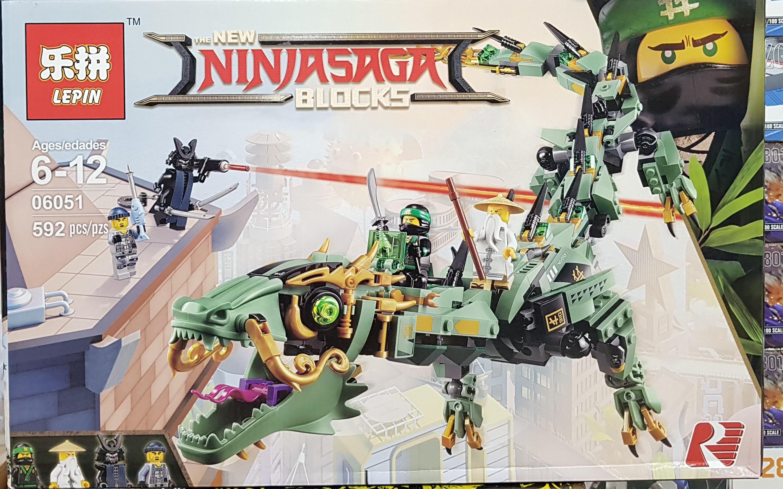 LEPIN THE NEW NINJASAGA BLOCKS 06051 [592ชิ้น]