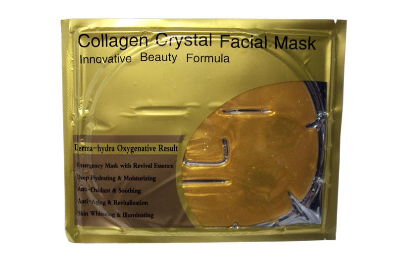 มาส์กหน้ากากทองคำ Collagen Crystal Facial Mask