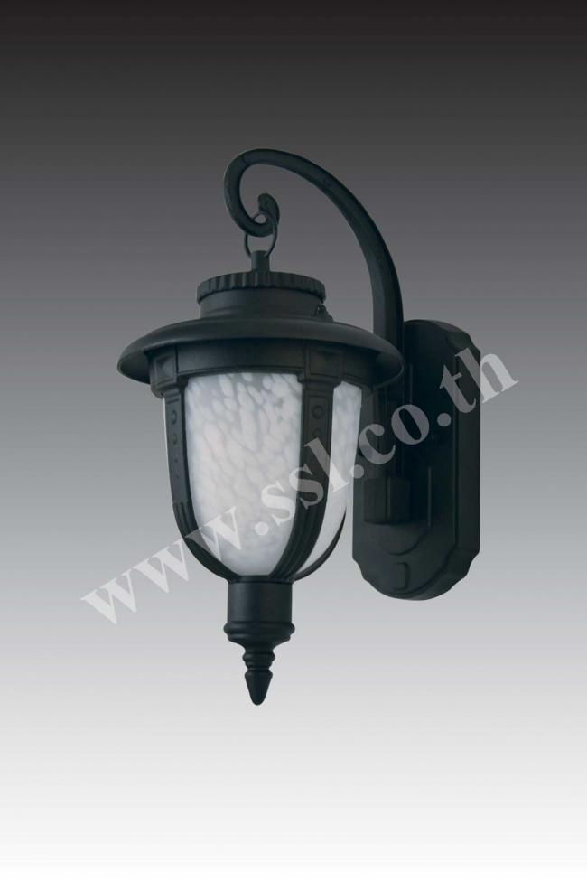 โคมไฟผนังนอกบ้าน SL-10-20706W-BK