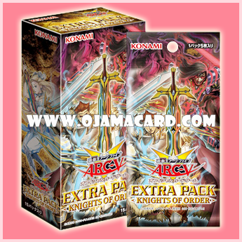 Extra Pack 14 : Knights of Order [EP14-JP] - Booster Box (JP Ver.)