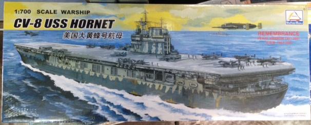 1/700 CV-8 USS HORNET