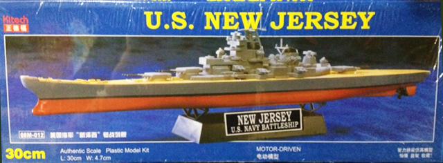 30 cm U.S. NEW JERSEY