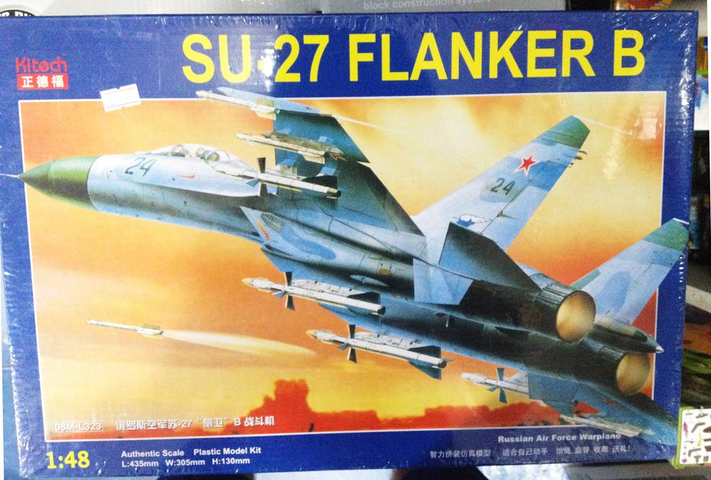 1/48 SU-27 FLANKER B