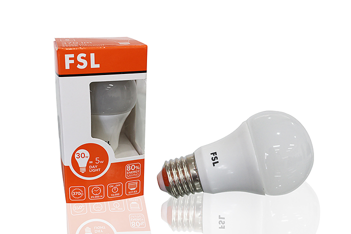 หลอดปิงปอง LED Bulb FSL 5w