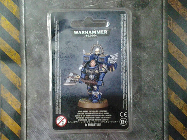 Space Marine Captain: Lord Executioner *