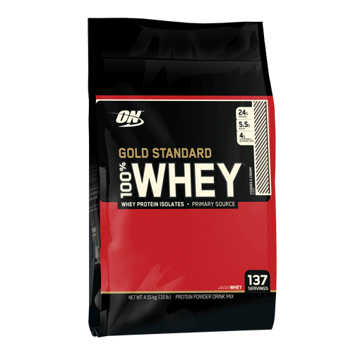 OPTIMUM NUTRITION WHEY GOLD STANDARD 10 LB