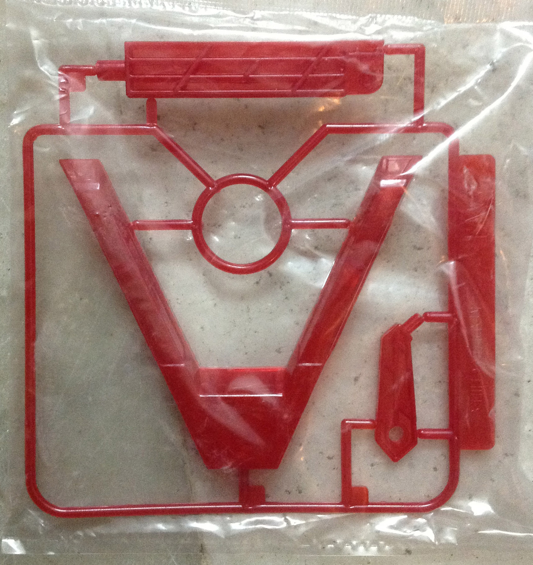 SD, 1/144 Action Base (Red)