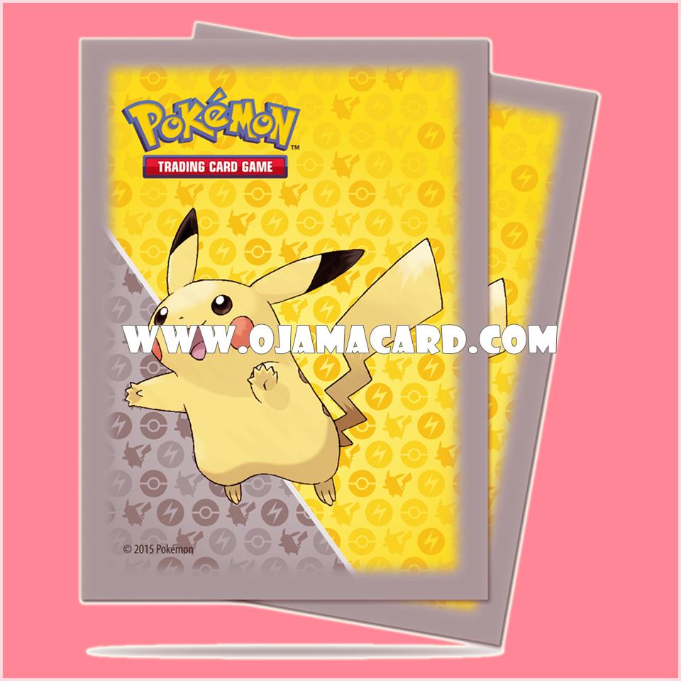 Ultra•Pro Pokémon Pikachu Grey Deck Protector 65ct.
