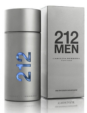 น้ำหอม Carolina Herrera 212 for Men EDT 100 ml