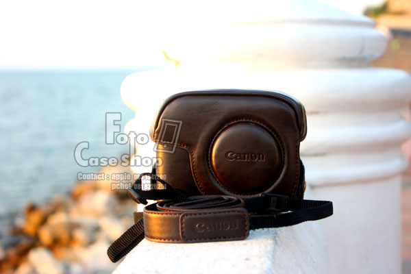 Leather Camera Case for Canon G11 G12