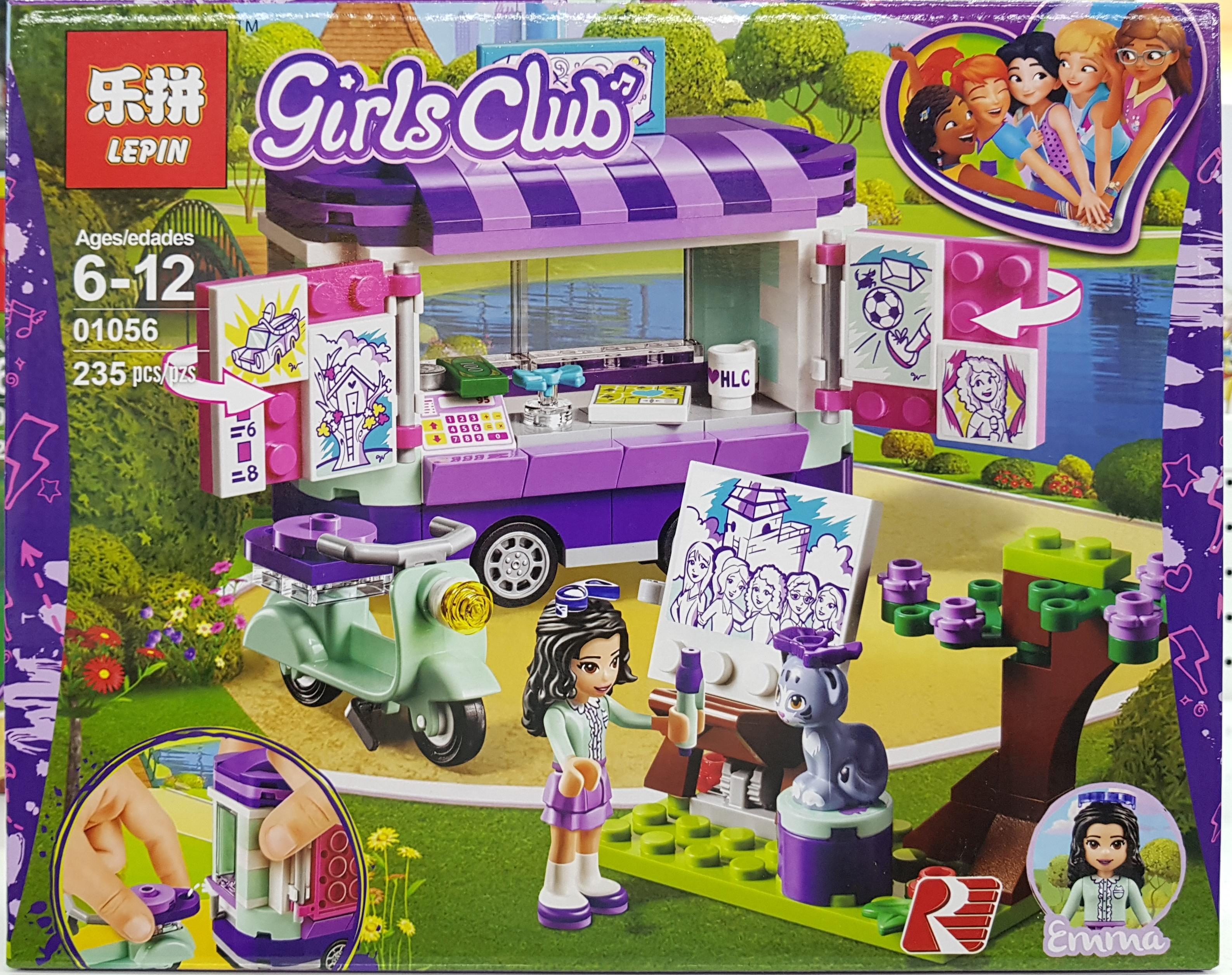 LEPIN GIRLS CLUB 01056 (235ชิ้น)