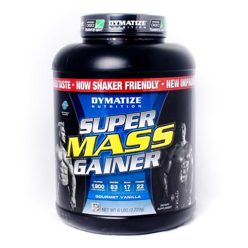 Dymatize Supermass Gainer 6ปอนด์ รสวานิลลา