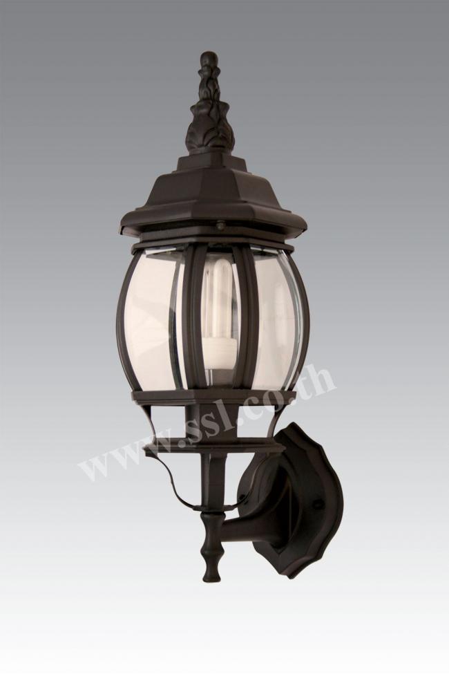 โคมไฟผนังนอกบ้าน SL-10-20623W-BK