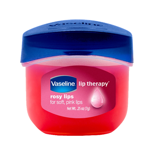Vaseline Lip Therapy (Rosy lips) วาสลีน ลิปบาล์มเนื้อสีชมพูอ่อน น่าพกพา กระปุกน่ารักเฟ่ออออ
