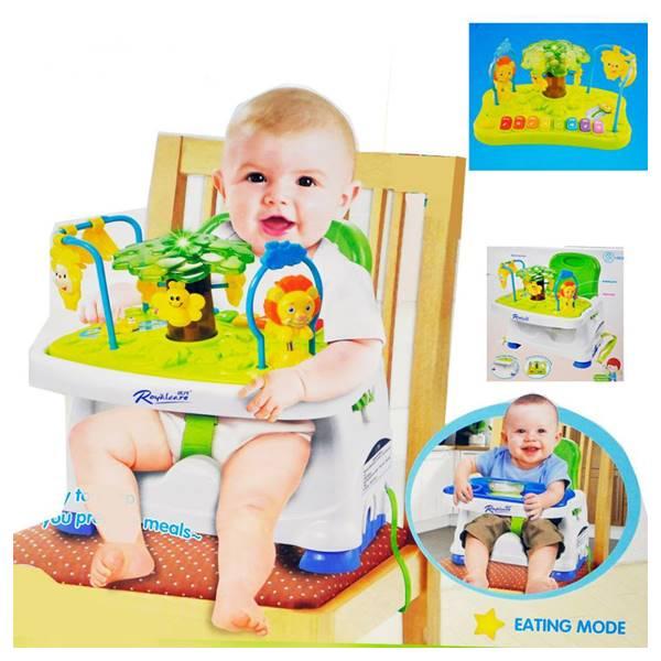 เก้าอี้ทานข้าวเด็ก รุ่นมีของเล่น ROYAL CARE