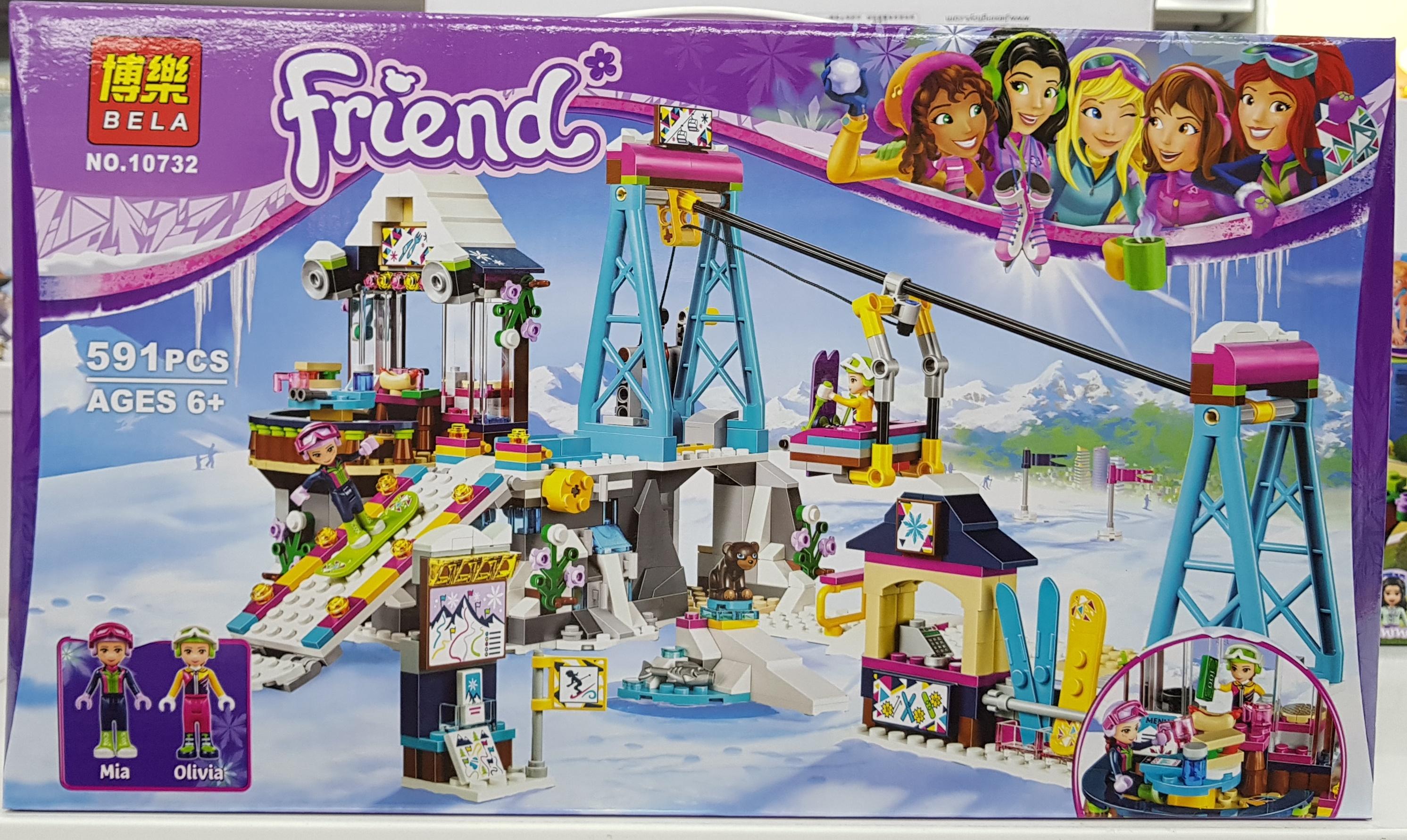 BELA FRIEND 10732 (591ชิ้น)