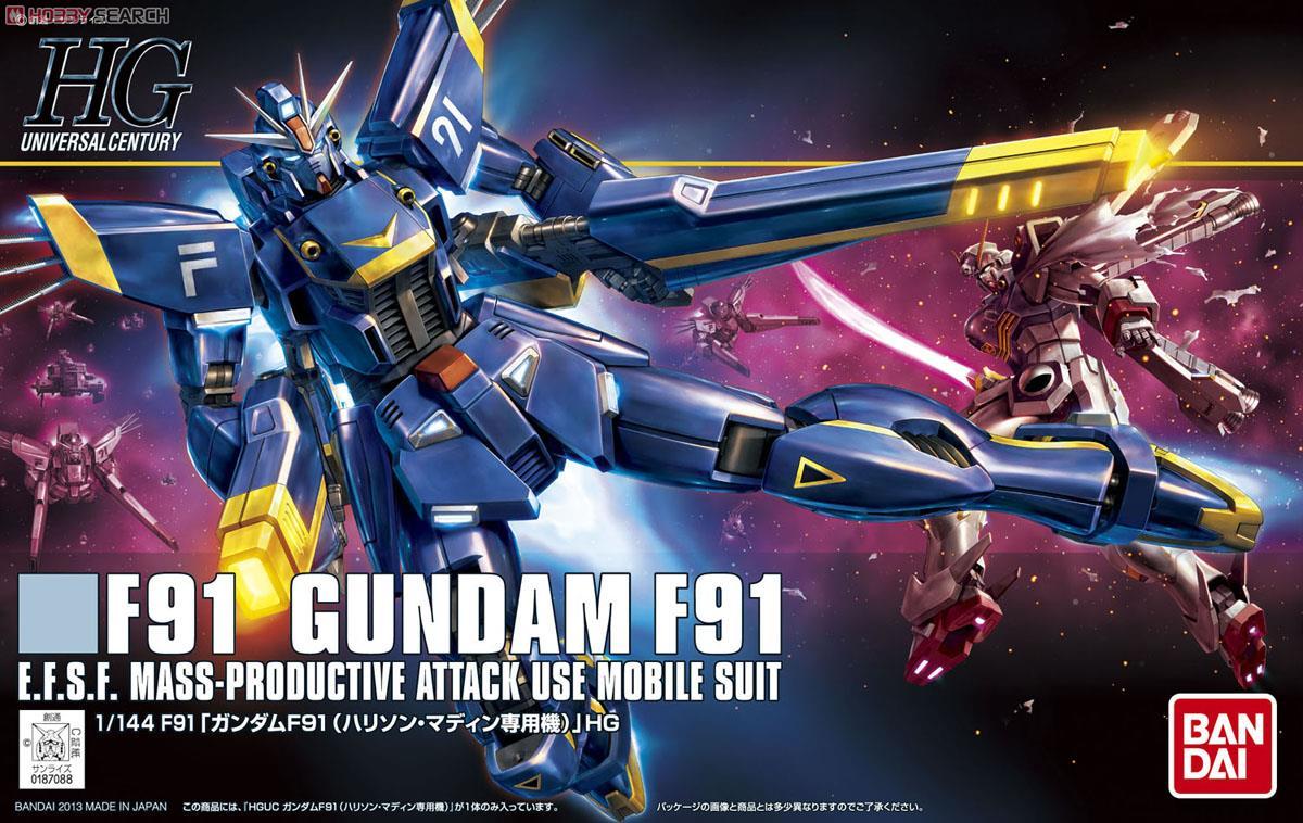 Gundam F91 Harrison Martin Custom (HGUC)