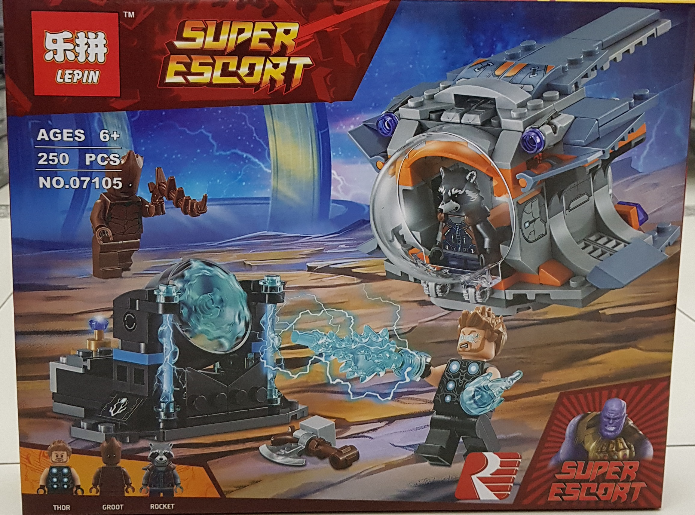 LEPIN SUPER ESCORT 07105 [250ชิ้น]