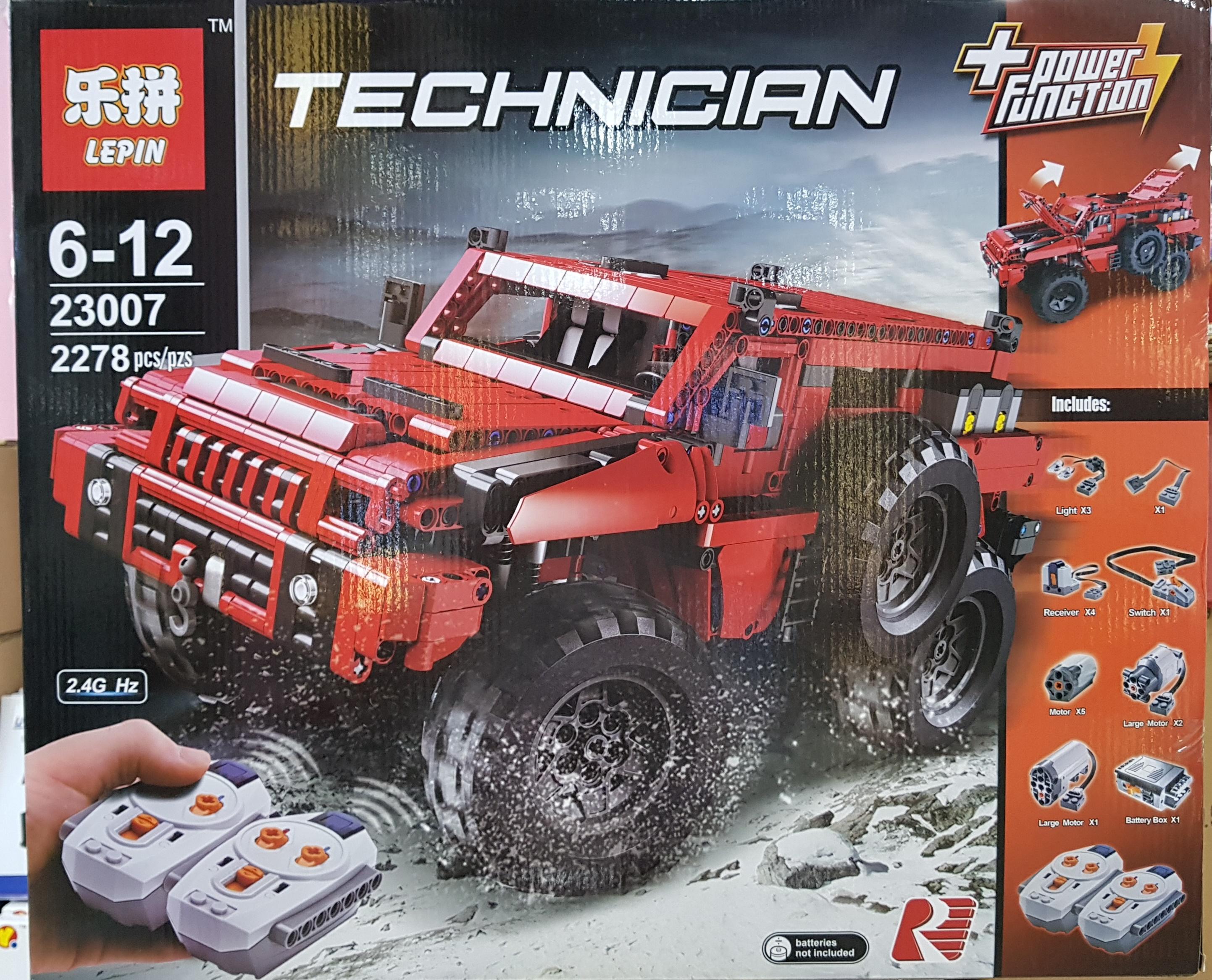 LEPIN TECHNICIAN 23007 (2278ชิ้น)