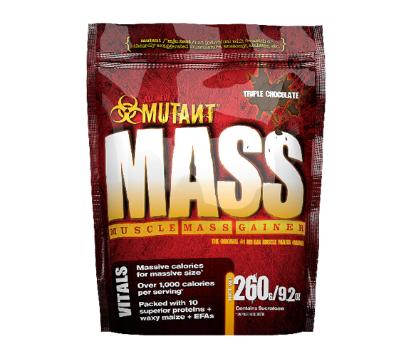 Mutant Mass chocolate 260g minibag