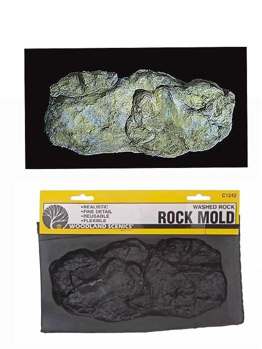 C1242 แม่พิมพ์หินเทียม สำหรับหล่อแบบภูเขา ROCK MOLD-WASHD ROCK