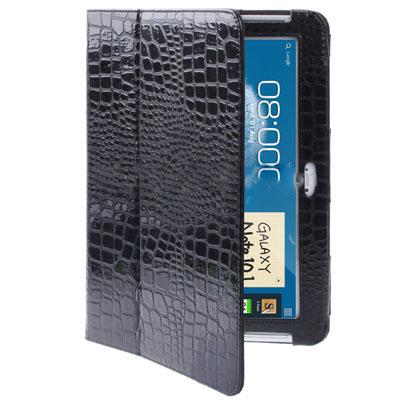 Case เคส Crocodile Samsung Galaxy Note 10.1 (N8000)(Black)