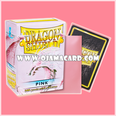 Dragon Shield Standard Size Card Sleeves - Pink • Classic 100ct.