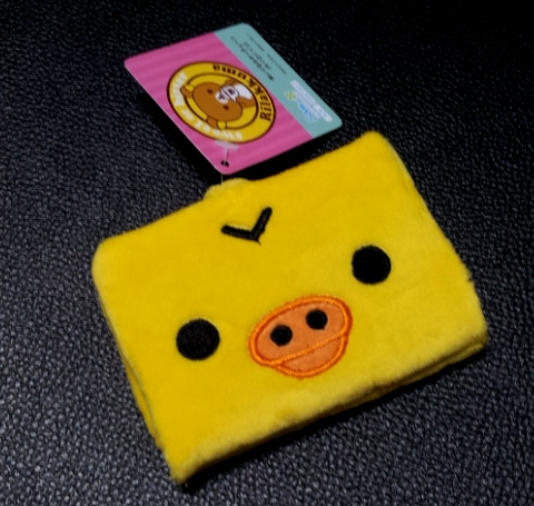 กระเป๋าใส่บัตร ลาย Kiioritori ลูกเจี๊ยบ (ซื้อ 3 ชิ้น ราคาส่งชิ้นละ 100 บาท)