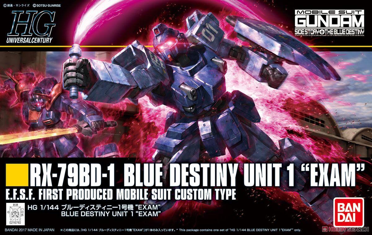 Blue Destiny Unit 1 `EXAM` (HGUC)