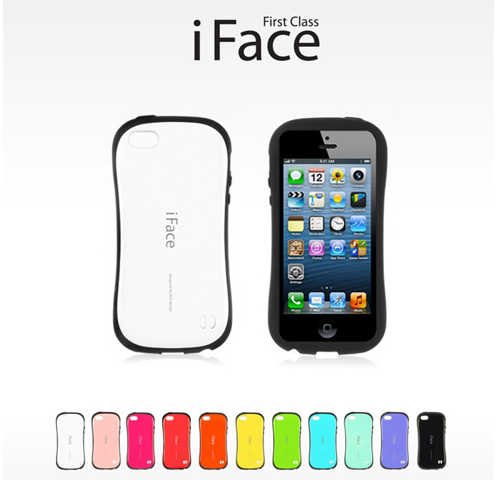 iFace : First Class Case Perfect Fit / Anti shock / Good Grip for iPhone5