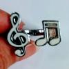 Music Notes Open Ring Music Series แหวนรูปตัวโน๊ต ปรับระดับได้