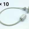 หัวพ่นหมอก 4 ทางเนต้าฟิล์ม 0.6 mm. 10 ชุด ( ชุดละ 100 บาท )