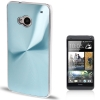 CD Texture Metal HTC One (M7) (Baby Blue)