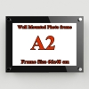 A2 กรอบรูปอะครีลิค ติดผนัง สีพิเศษ - A2 Acrylic Wall Mounted Photo Colour Frame