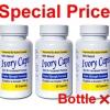 เซตผิวขาวกระจ่างใส - Ivory Caps Lightening Program ผิวขาวครบสูตร (สำหรับ 3-6 เดือน) เซ็ตยอดนิยม Ivory Caps 1500 mg 3 ขวด ขวดละ 60 เม็ด ผิวขาวกระจ่างใส ลดความหมองคล้ำ ต้านริ้วรอย คุณภาพ อย.USA
