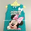 H&M---เสื้อกล้ามสีเขียว ลายมินนี่ เมาส์ Minnie Mouse หัวใจเล็กๆ เต็มตัว แต่งโบว์น่ารักๆ ใส่สบาย เหมาะกับ summer นี้ค่ะ