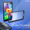 SGP : Ultra Hybrid Clear Back & Bumper W Protector Air Cushion Case Cover for Samsung Galaxy S5, SV, G900