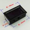 ดิจิตอลมิเตอร์ (Digital meter) DC 0-100V