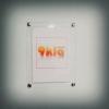 A2 กรอบรูปติดผนัง ชนิดซองติดผนัง สีใส เปลี่ยนภาพง่าย ไม่ต้องถอดหมุด (จำนวน 10 ชุด) (สินค้าสั่งผลิต 10-15 วัน)