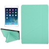 Multi-folding Leather Case for iPad Air (Green)