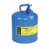 ถังเก็บสารเคมี,ของเหลวที่กัดกร่อน ขนาด 5 GEL (SAFETY CAN-BLUE)