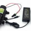 """ปั๊มน้ำ ปั๊มพ่นยา DC12V GREEN-03แรงดัน 8 บาร์ แบบเกลียวนอก 1/2""""(No Pressure switch ) + Adapter 12VDC 5A 5.5 mm. x 2.5 mm. รุ่น YU1205 + แจ็ค DC ( ตัวเมีย )"""