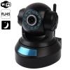 ip camera wireless ตรวจจับการเคลื่อนไหวและฟังก์ชั่นในตอนกลางคืน (สีดำ)