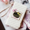 Authentic Hello Kitty Mirror Smart Wallet Case For For Galaxy Note 4